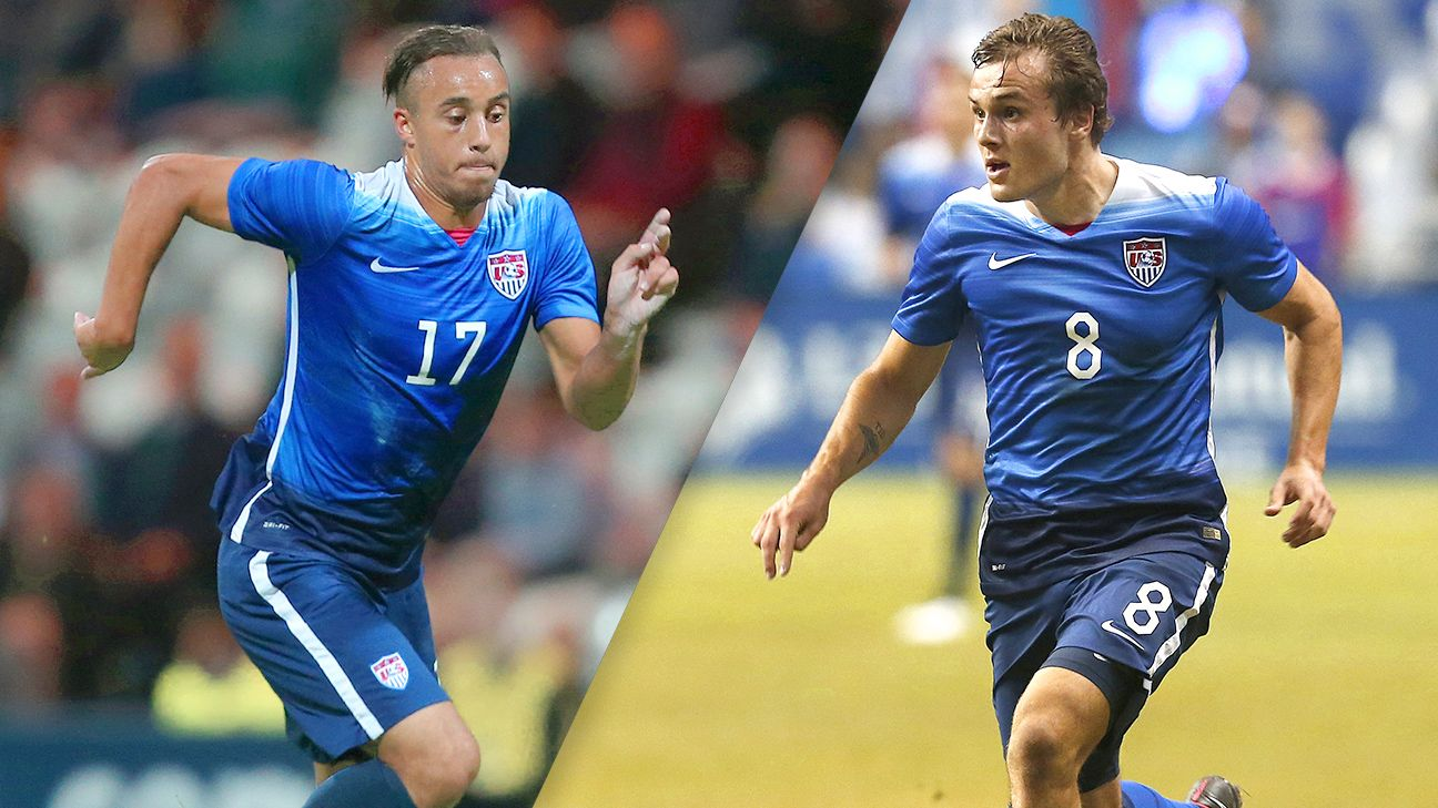 Forwards Jerome Kiesewetter and Jordan Morris have starred for the Yanks at CONCACAF's under-23 championship.