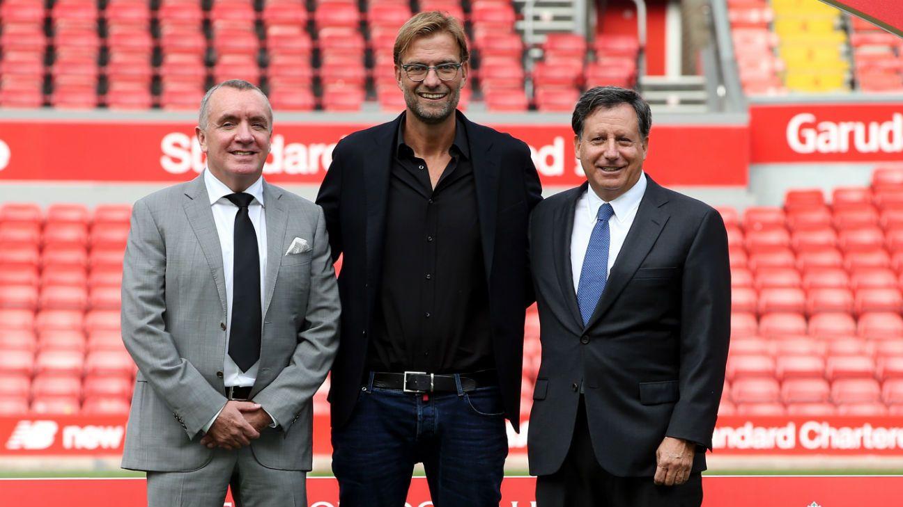 Jurgen Klopp was a long-term Liverpool target - Tom Werner