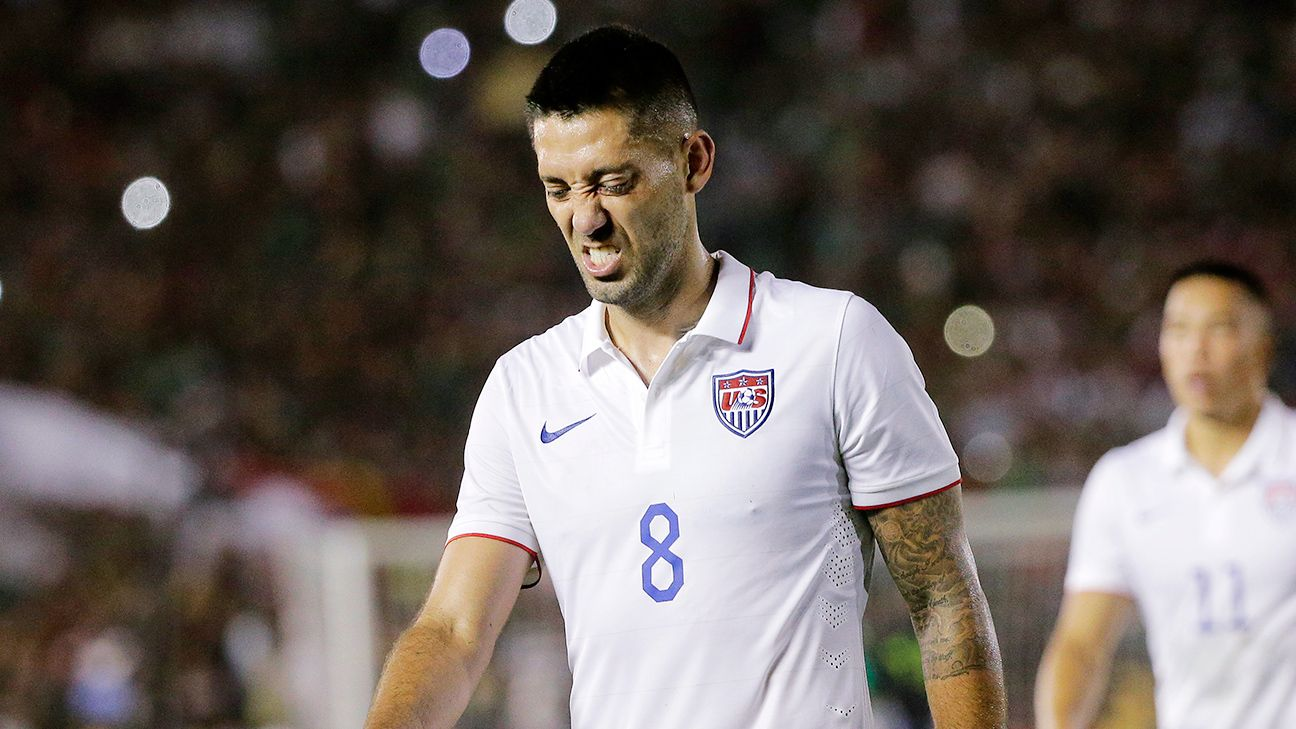 Clint Dempsey was a non-factor for the U.S. against Mexico.