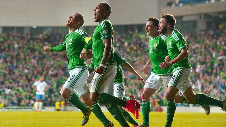 Northern Ireland roared their way to securing a ticket to France next summer with a 3-1 win over Greece.