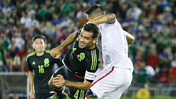 In what was his final Mexico-U.S. game, Rafa Marquez emerged triumphant.