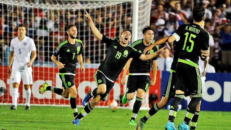Mexico are on their way to Russia following Saturday's dramatic win over the U.S.