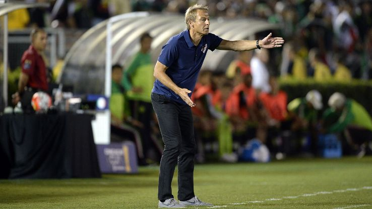 Hopes of the U.S. reaching the Confederations Cup were dashed when Jurgen Klinsmann's men fell to Mexico in October's CONCACAF Cup.