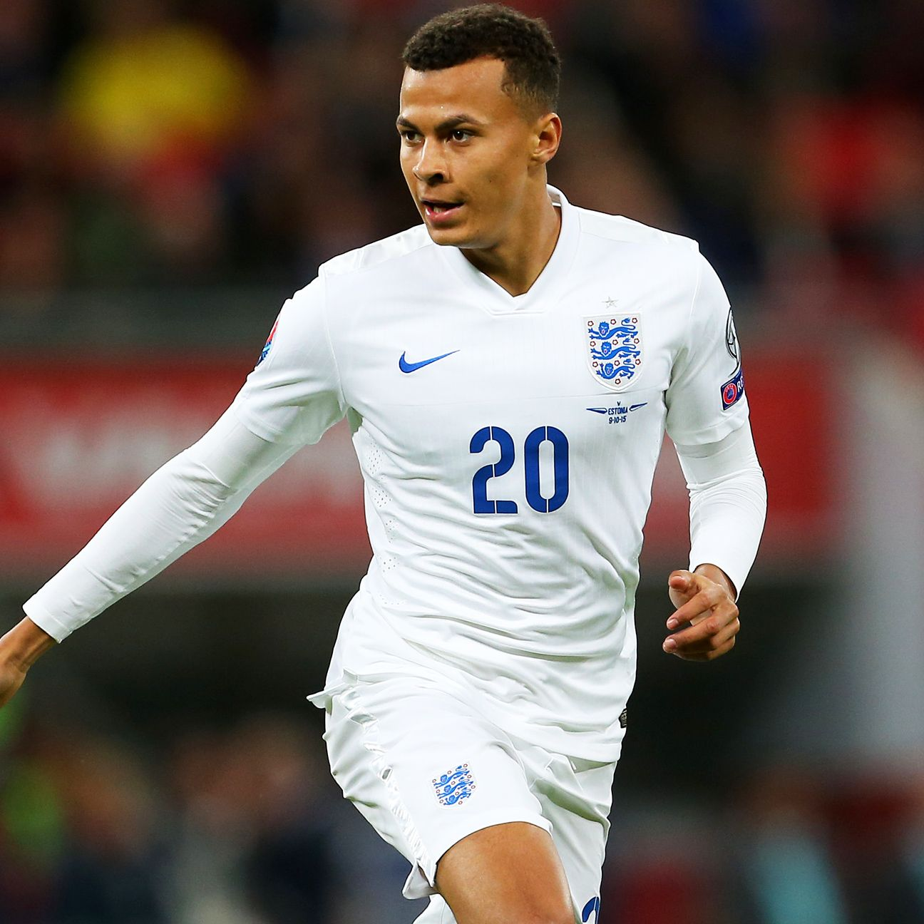 Tottenham attacking midfielder Dele Alli, 19, has already scored for England's senior team.