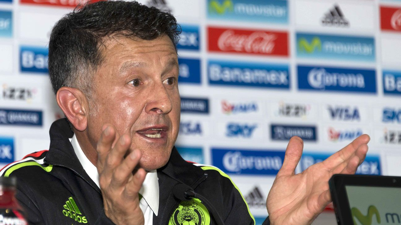Mexico depth chart: Juan Carlos Osorio's 4-3-3 comes to the fore
