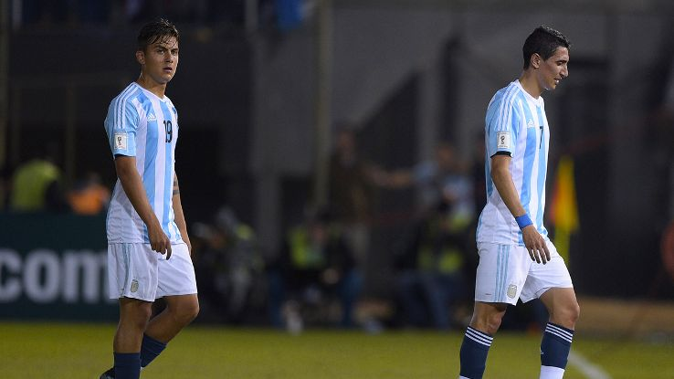 Argentina have failed to muster a goal in their first two World Cup qualifiers.