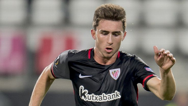 aymeric laporte signs new athletic bilbao contract espn fc