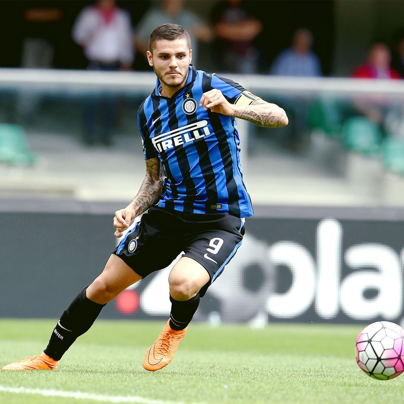 Mauro Icardi will lead Inter by example when Juventus ...