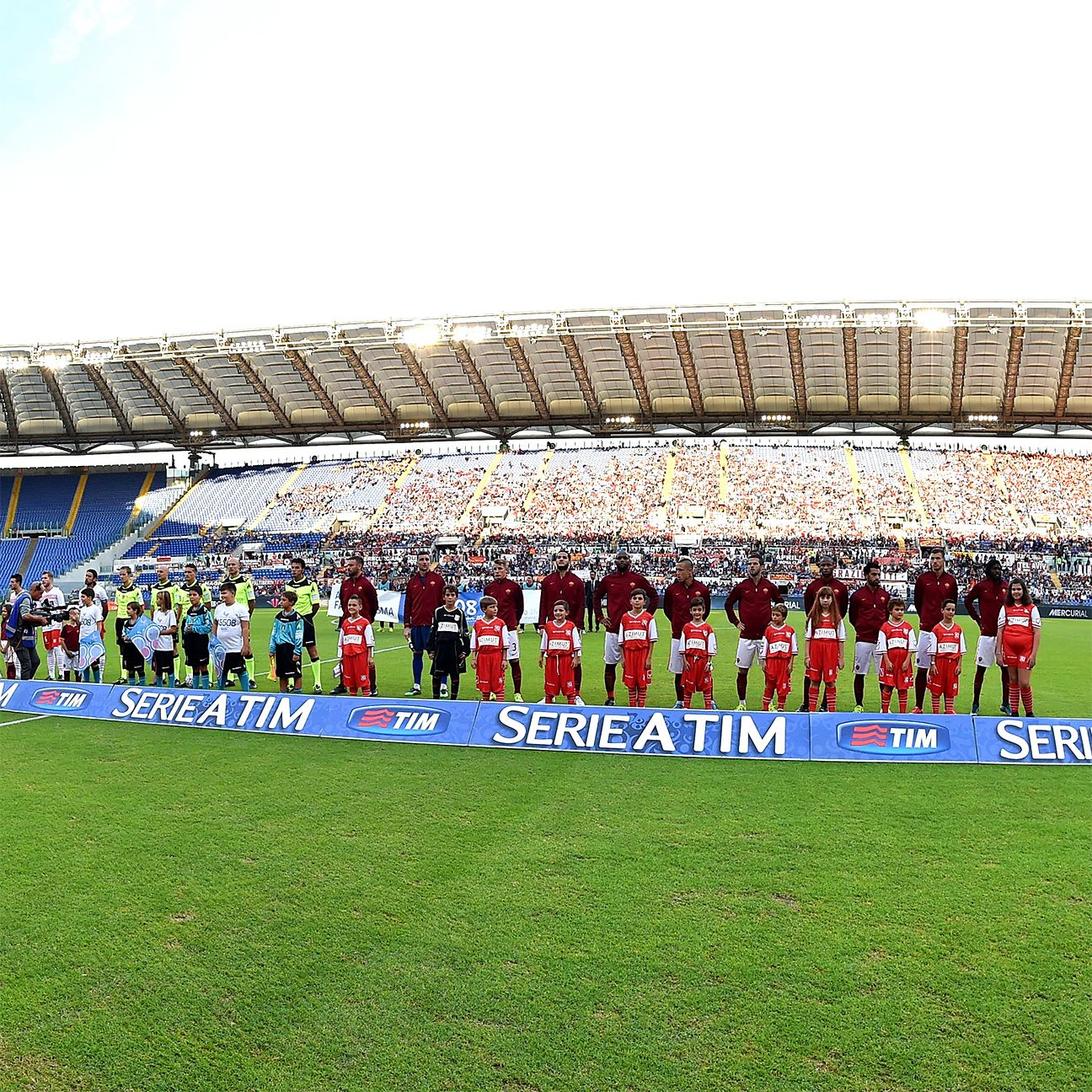 Roma's opponents currently have the luxury of not dealing with large crowds at the Stadio Olimpico.