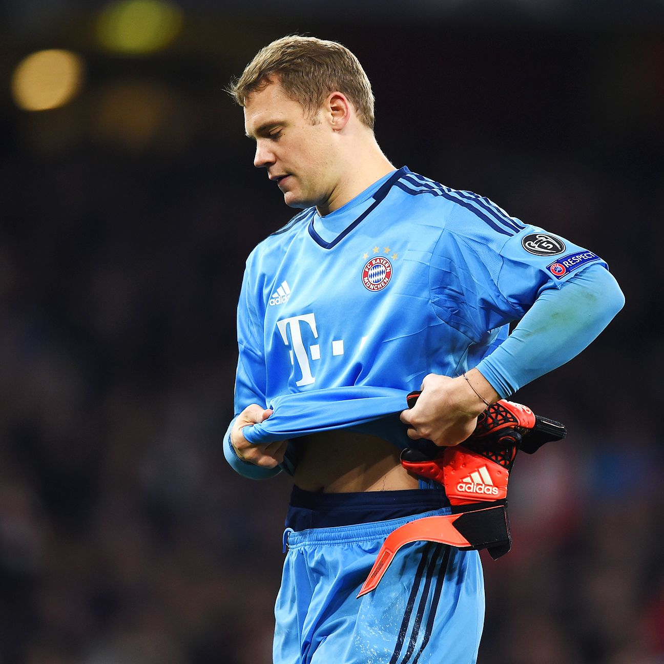 Bayern goalkeeper Manuel Neuer had his share of highs and lows on Tuesday night at The Emirates.