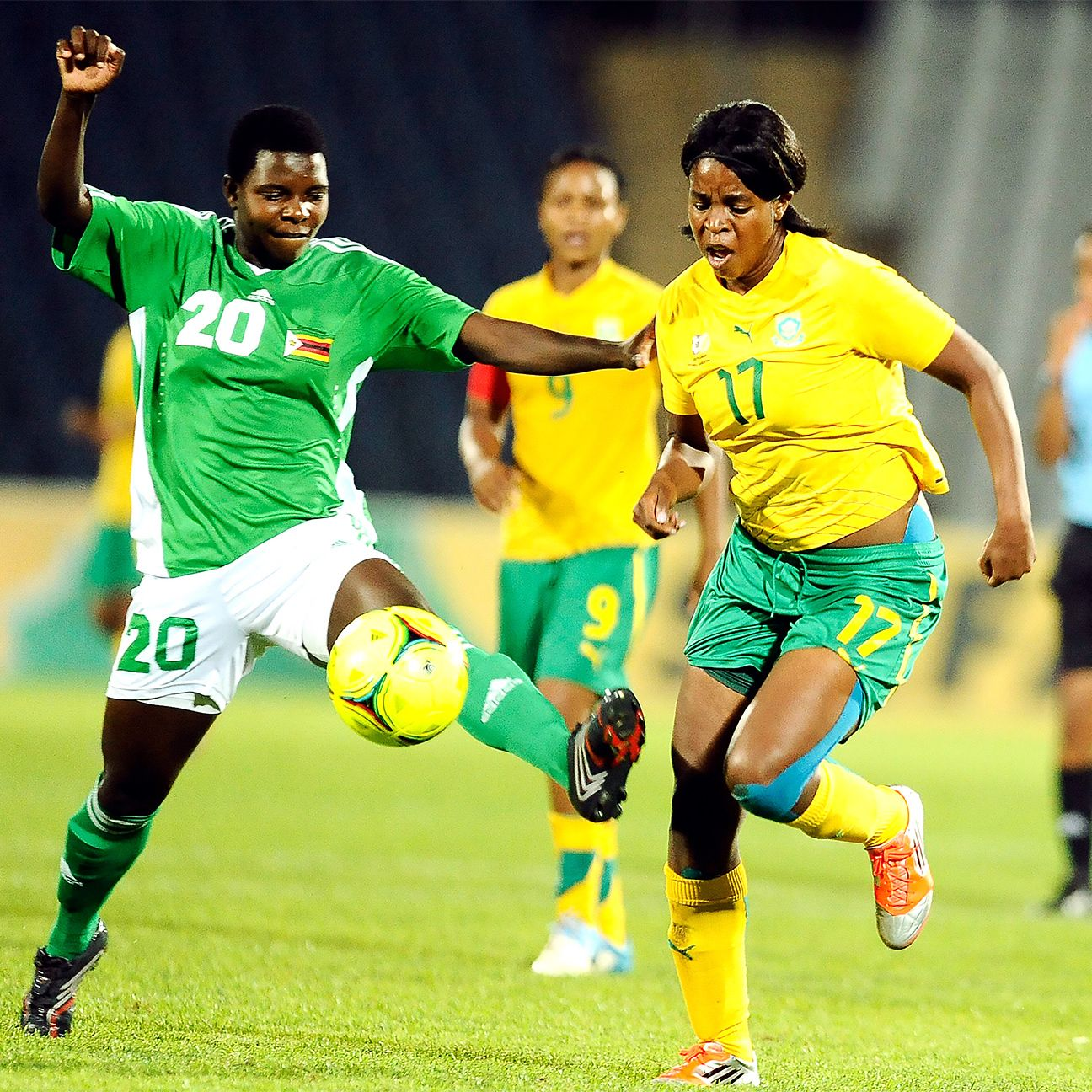 Zimbabwe and South Africa, seen here during a 2012 friendly, will each be representing Africa at next summer's Olympics in Rio.