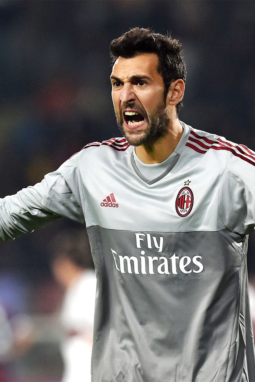 Milan goalkeeper Diego Lopez has yet to keep a clean sheet this season in Serie A.