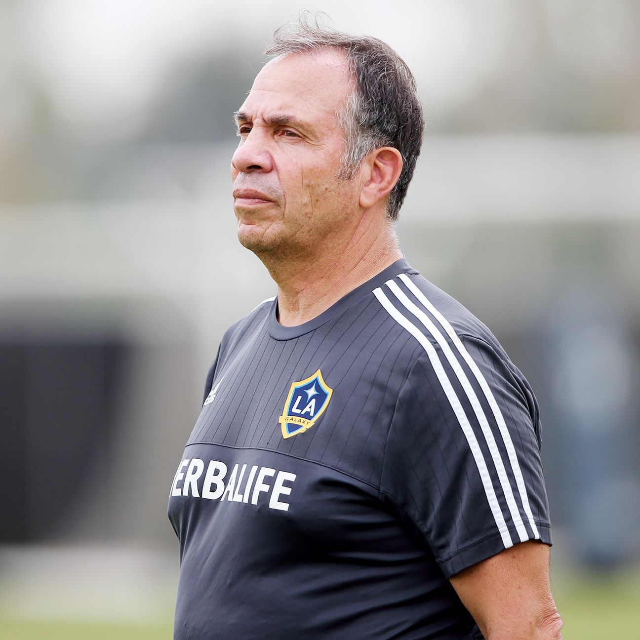 Bruce Arena was not on hand for the Galaxy's 1-1 draw at Comunicaciones.