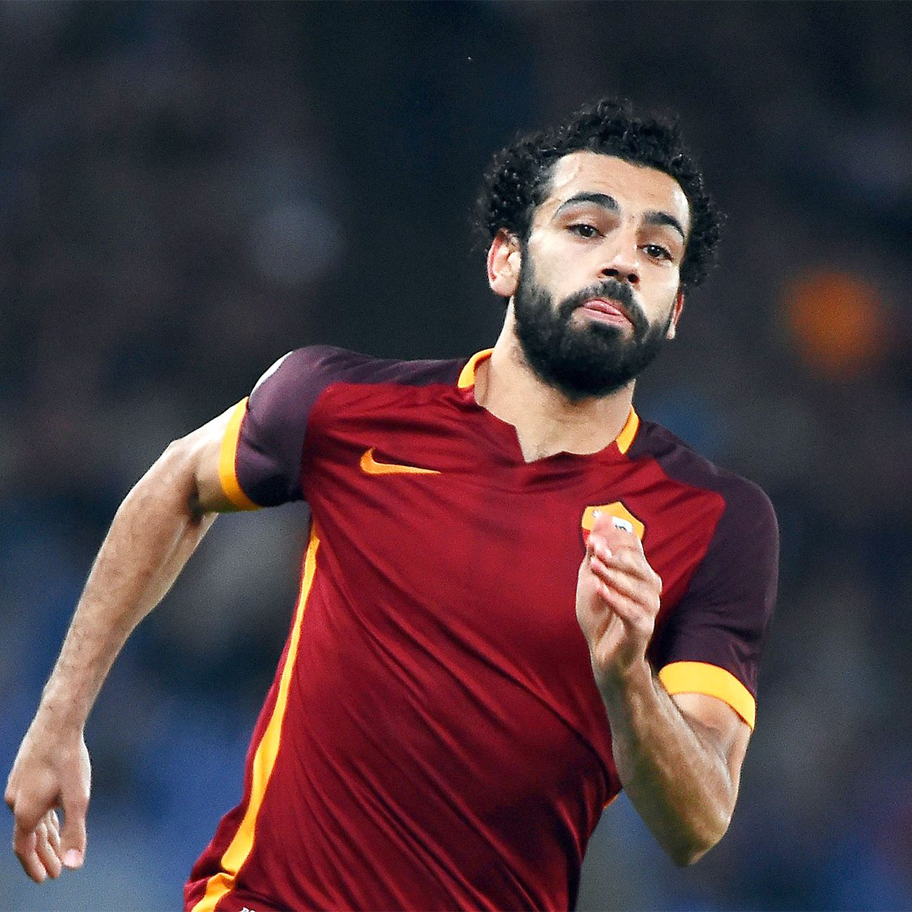 Mohamed Salah is off to a solid start in 2015-16, with four goals in Serie A.