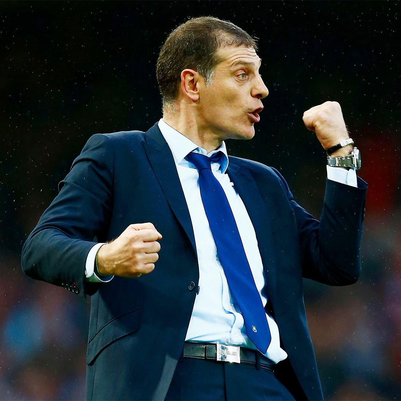 West Ham fans will be hoping for the sight of a Slaven Bilic fistpump during the second week of April.
