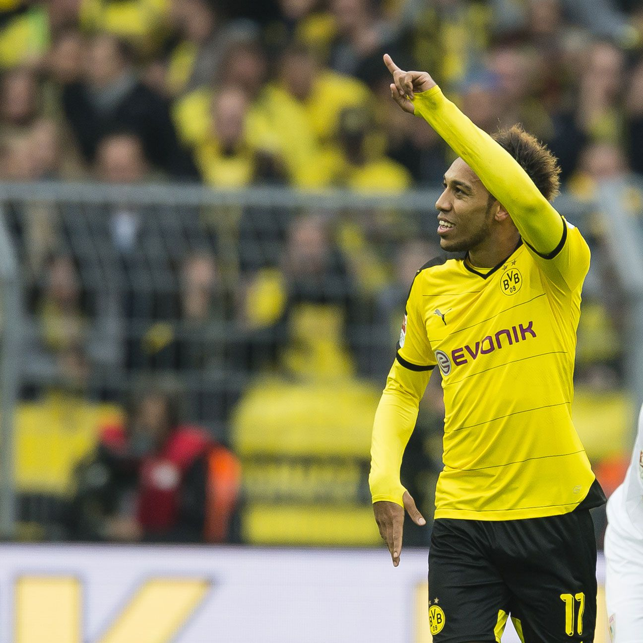 Pierre-Emerick Aubameyang continued his goalscoring exploits with a hat trick on Sunday.