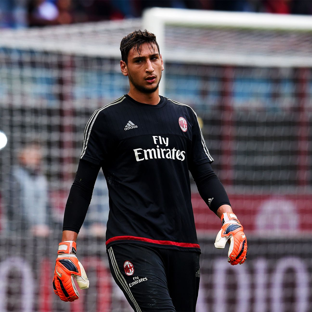 Gianluigi Donnarumma enjoyed a successful Serie A debut as Milan's No. 1.