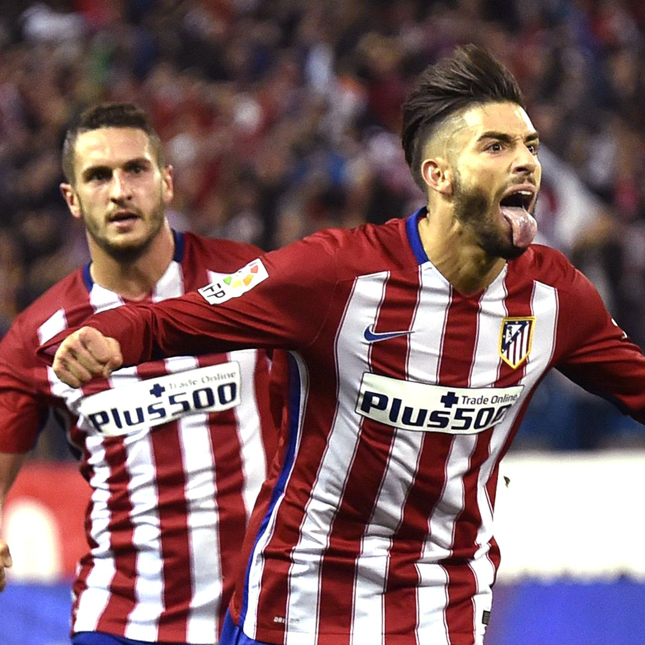 Yannick Carrasco has now scored in two straight La Liga matches for Atletico.