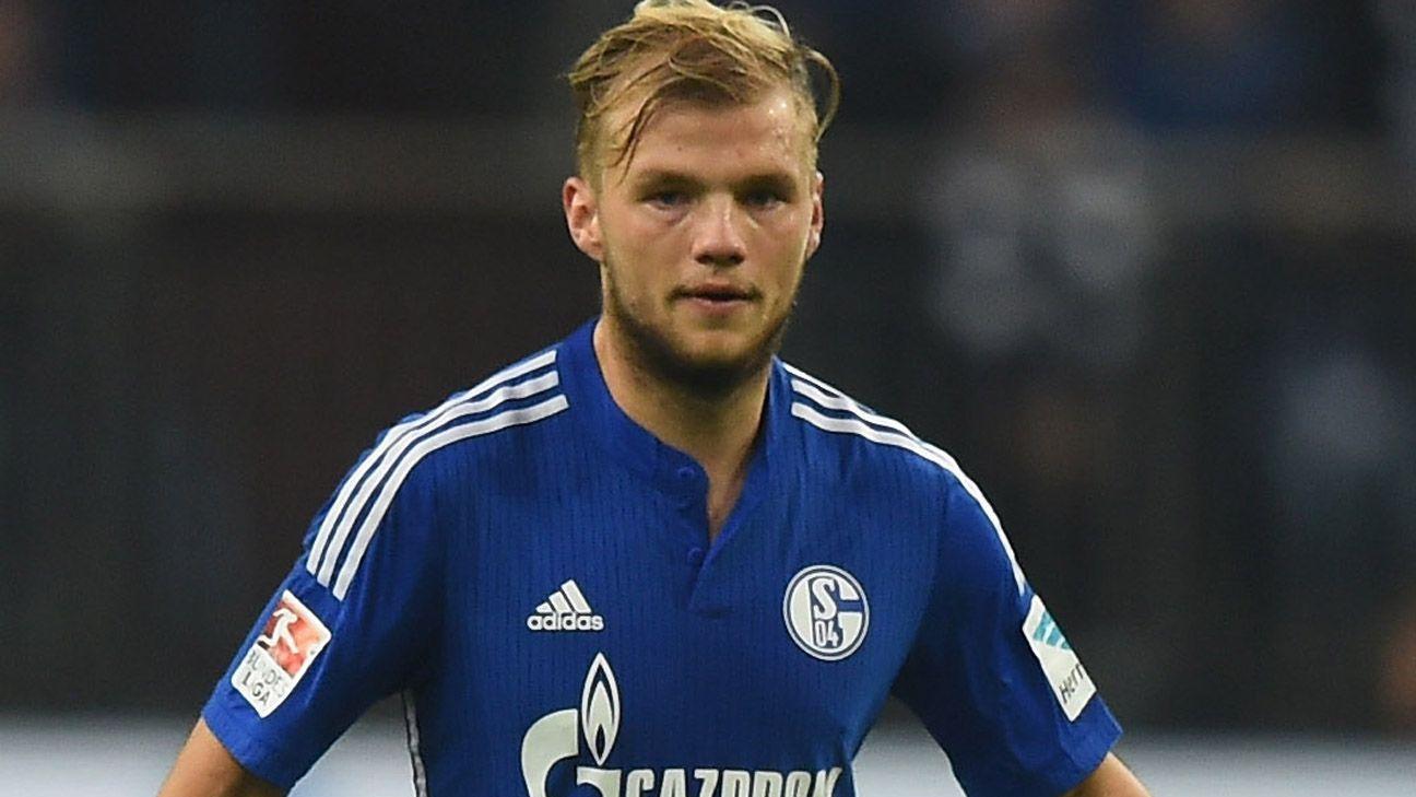 Schalke S Johannes Geis Gets Five Game Ban For Challenge