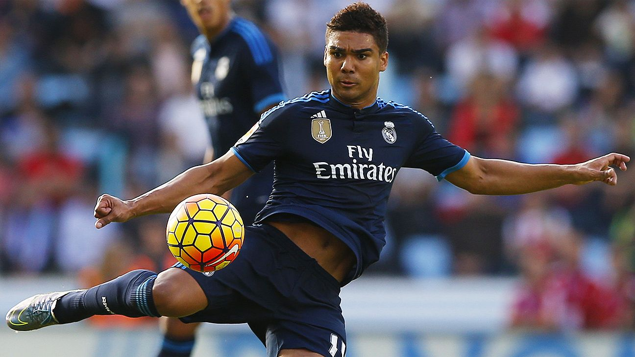 The battling presence of Casemiro could be just the thing to help shore up Real Madrid's midfield.