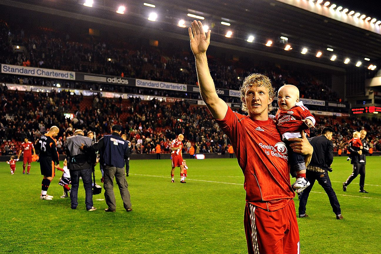 Five of the best moments from Dirk Kuyt's Liverpool career