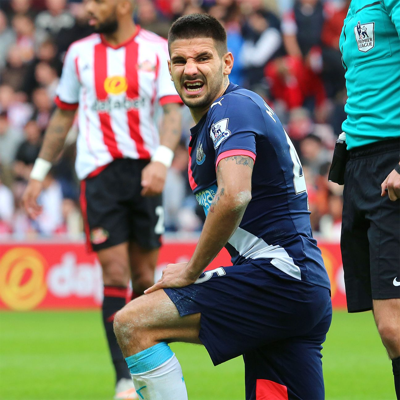 Aleksandar Mitrovic and Newcastle will be out for their second win of the season against Stoke.