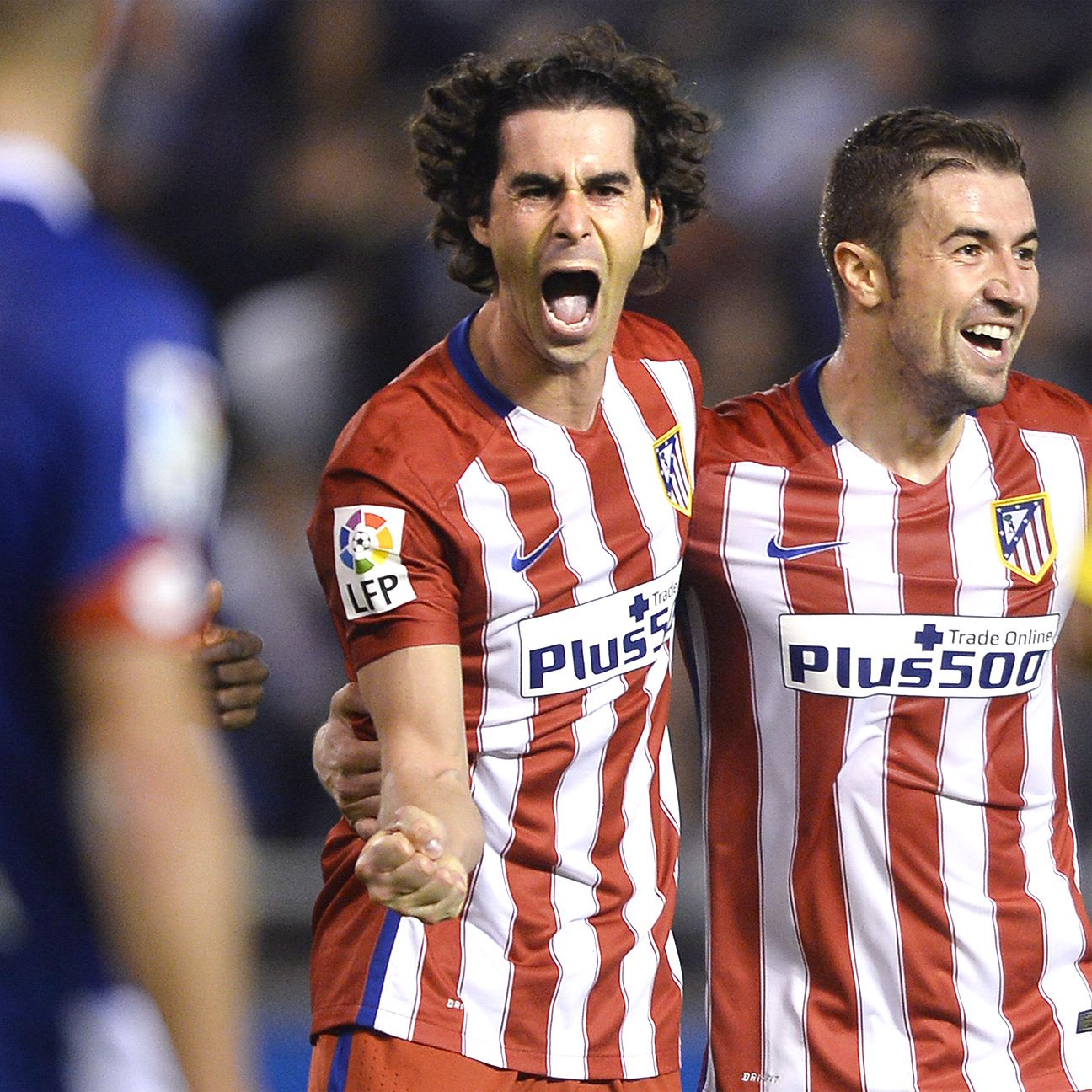 Tiago delivered another stellar performance for Atletico on Friday night in Galicia.