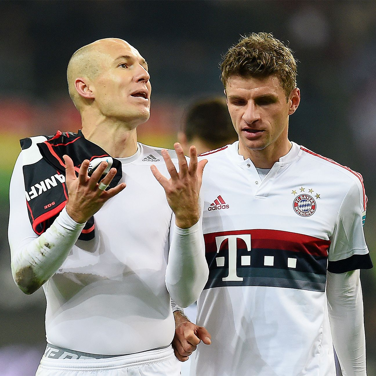 Arjen Robben and Bayern Munich lacked the finishing touch on Friday night against Eintracht Frankfurt.