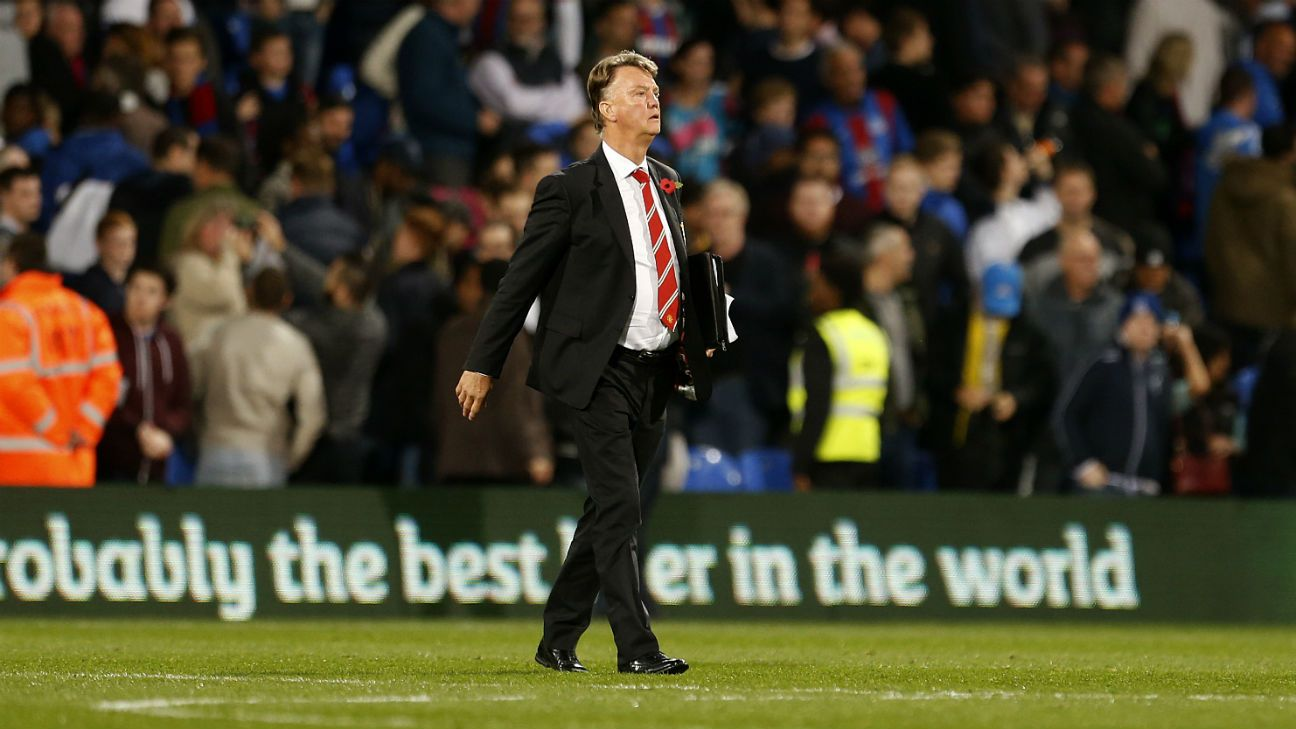 The lows have far outweighed the highs at Old Trafford this season under Louis van Gaal.