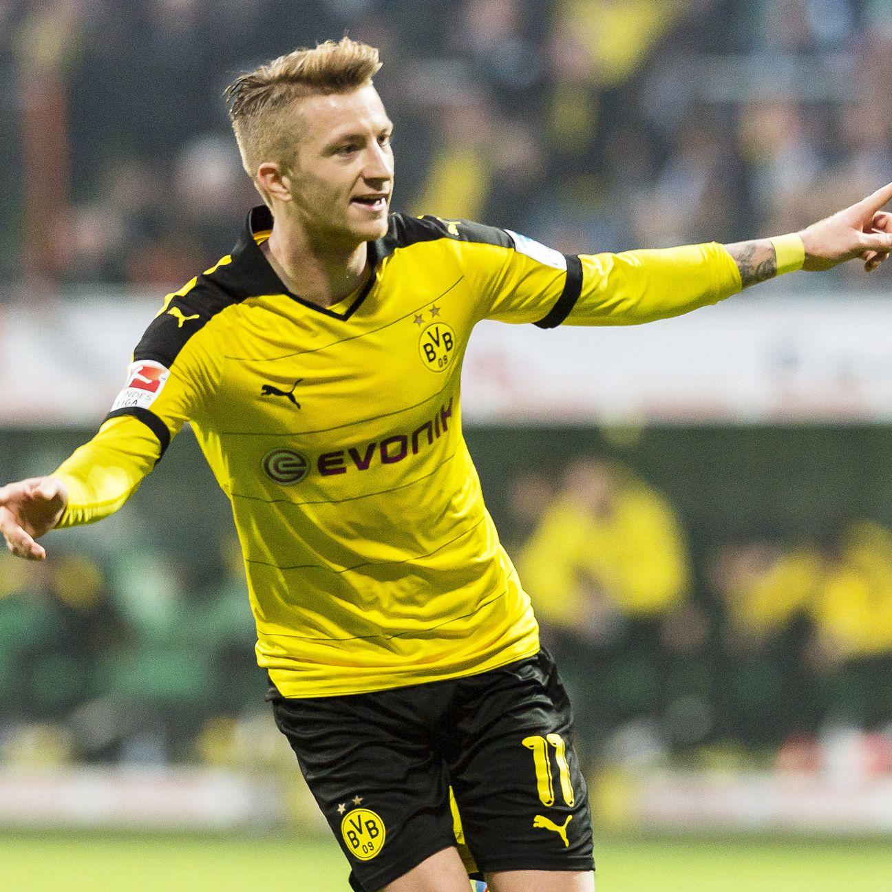 Marco Reus an injury doubt for Borussia Dortmund vs ...