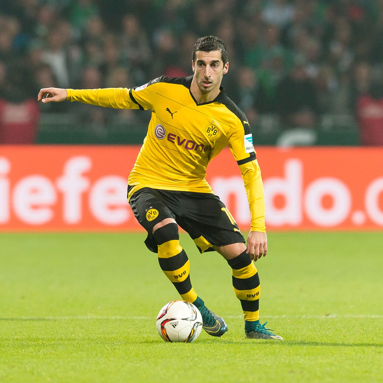 Henrikh Mkhitaryan has three goals in his last three matches for Borussia Dortmund.