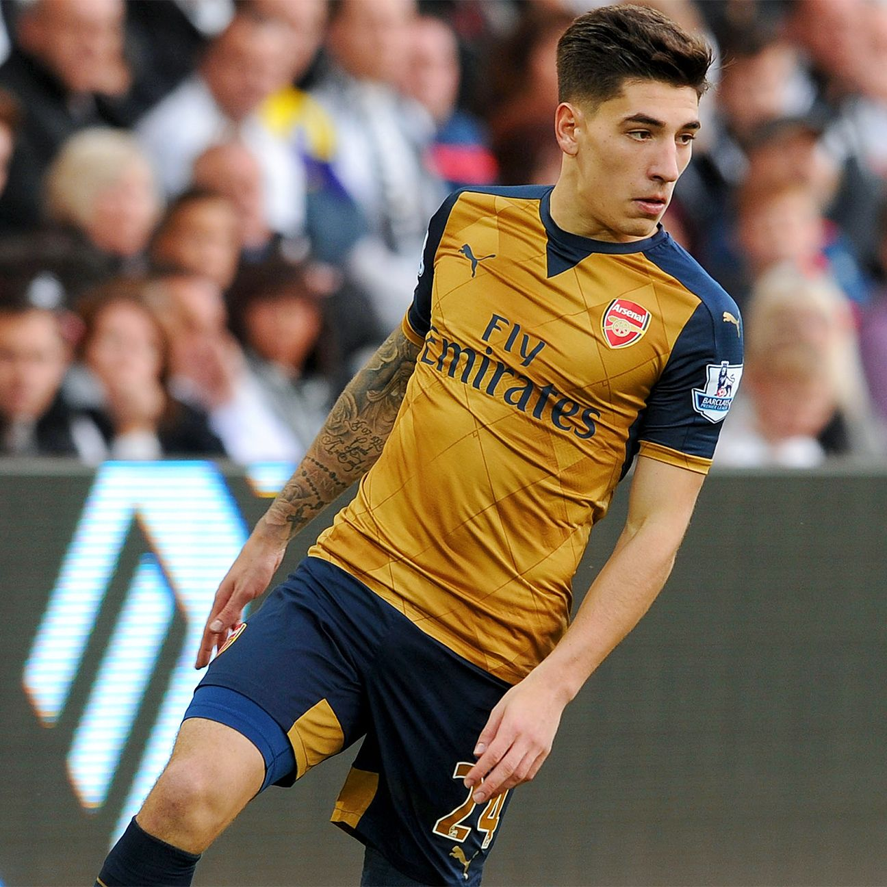 Hector Bellerin is part of an Arsenal back line that is showing improvement with each week.