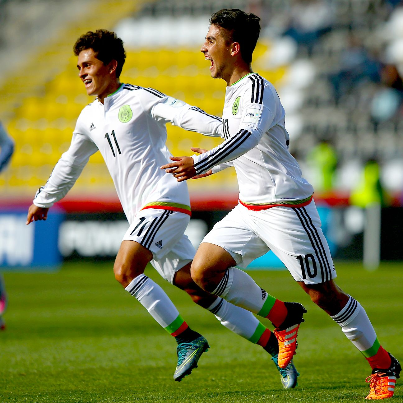 The Mexico Under-17s are off to their third straight World Cup semifinal following Monday's 2-0 win over Ecuador.