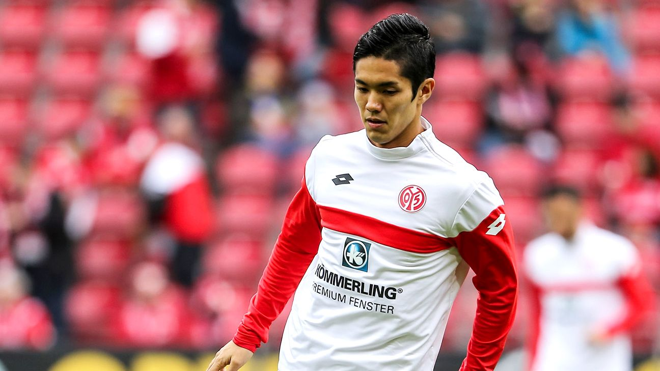 Yoshinori Muto has hit the ground running in his first season at Mainz.