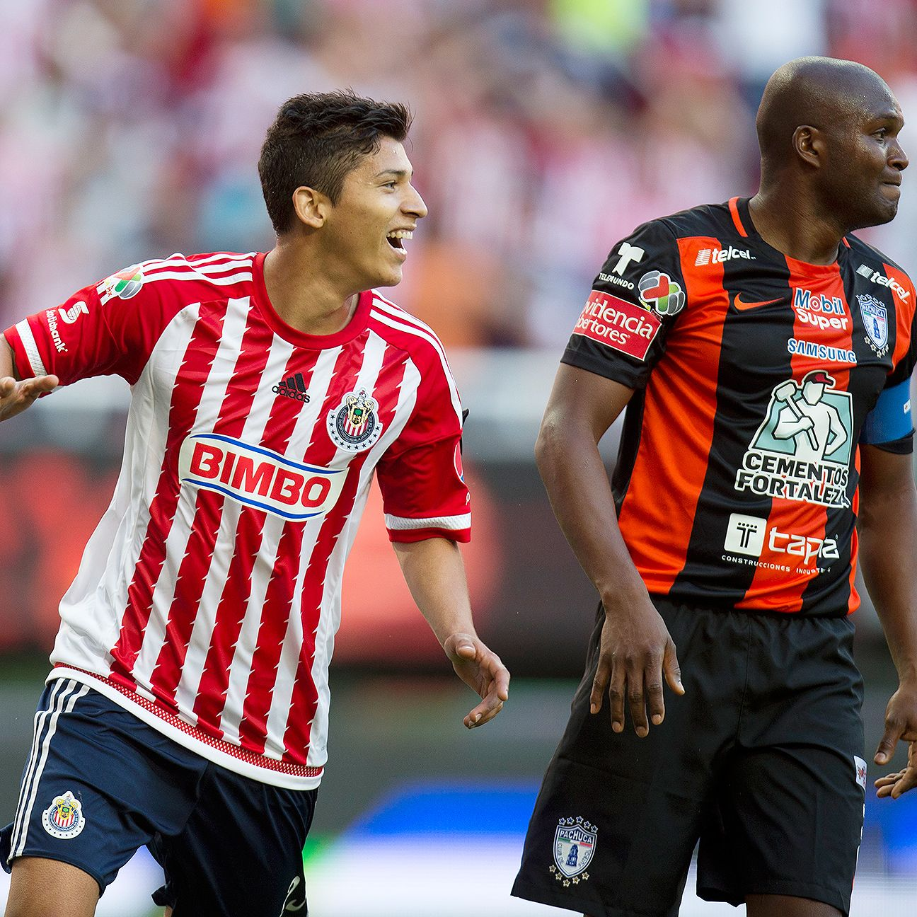 Angel Zaldivar made the most of a rare start by scoring two goals against Pachuca on Sunday.