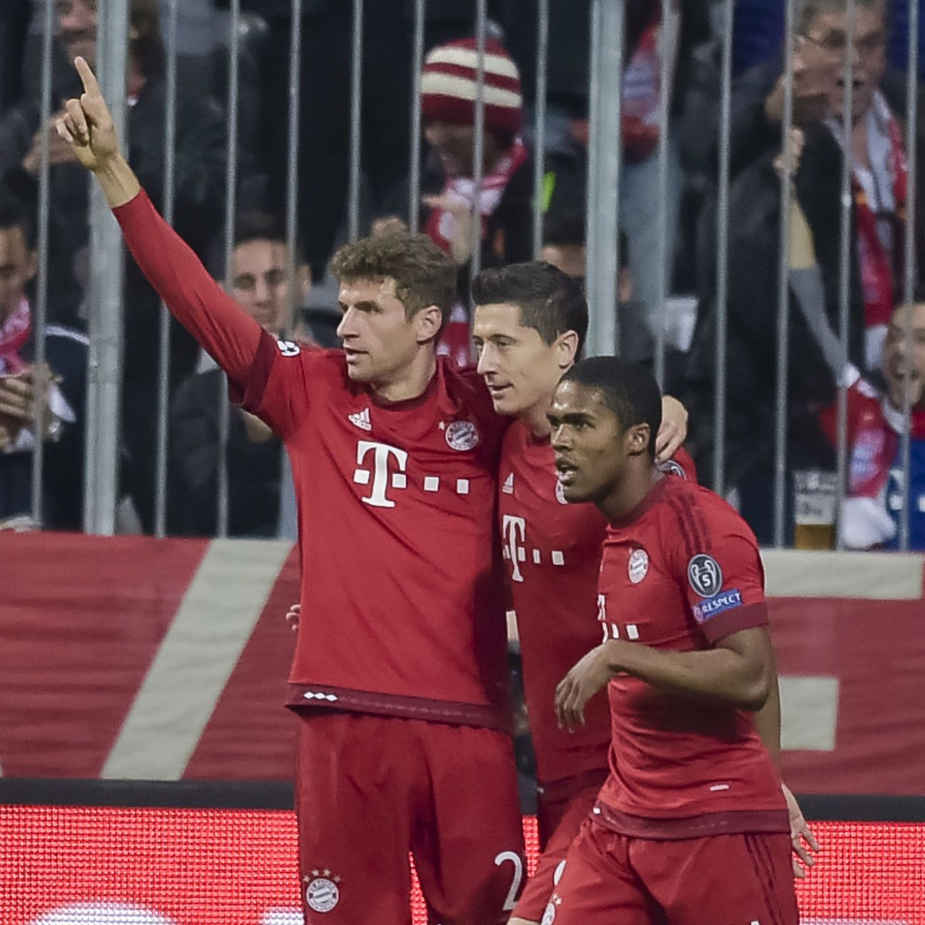There was no stopping Bayern Munich's attack in Wednesday's resounding victory over Arsenal.