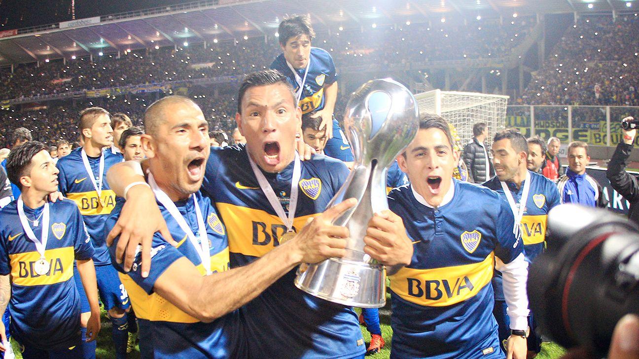 Boca campeão em 2015