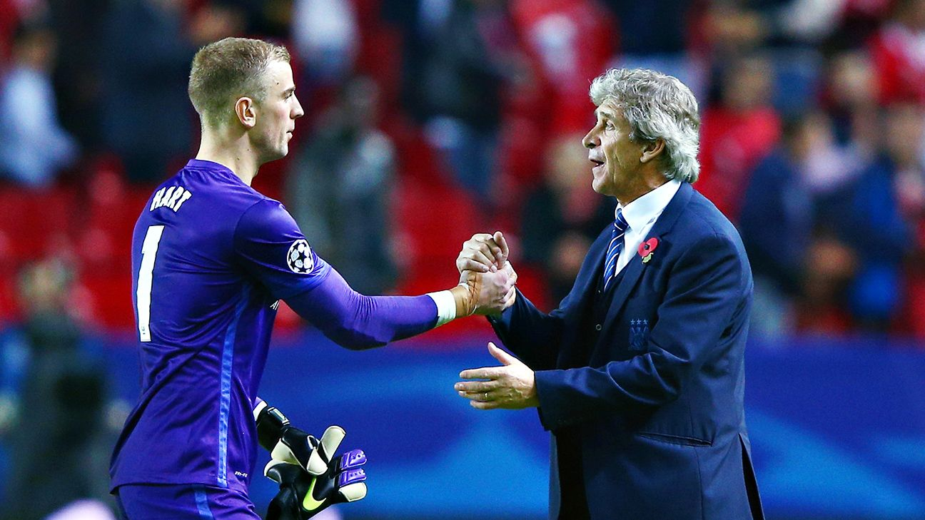 While Manchester City's defence have struggled this season, Joe Hart has been a rock in goal for manager Manuel Pellegrini.