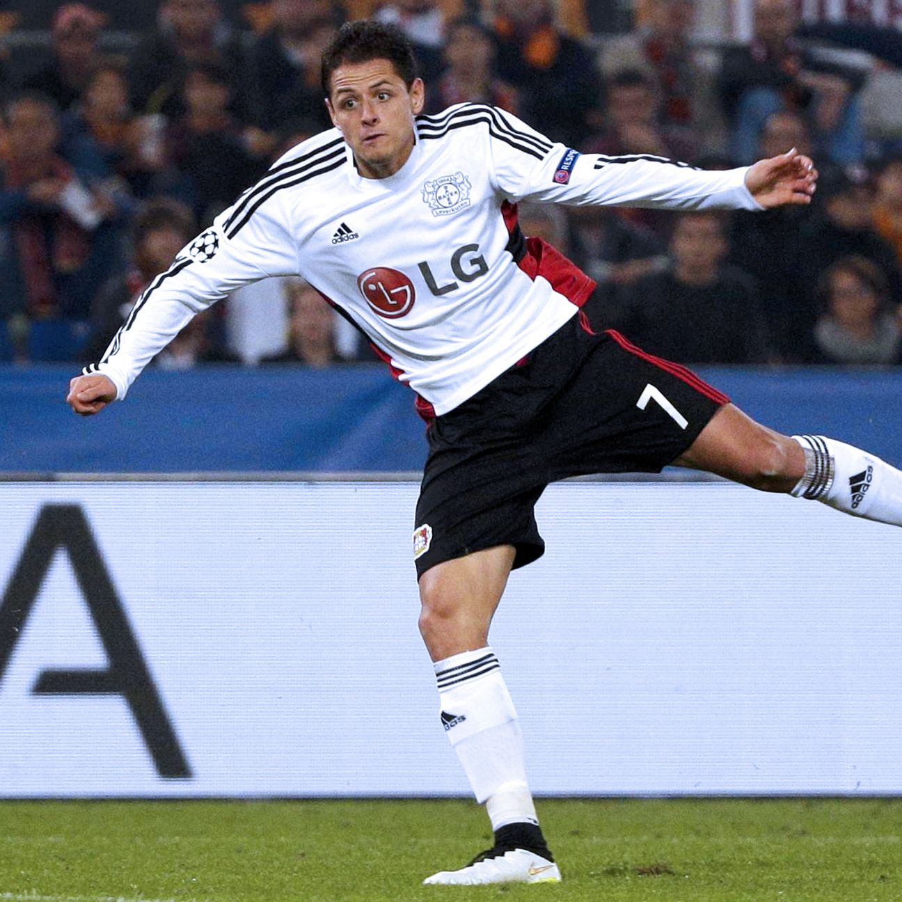 Javier Hernandez's blistering start at Leverkusen makes him the easy choice to lead Mexico's attack.