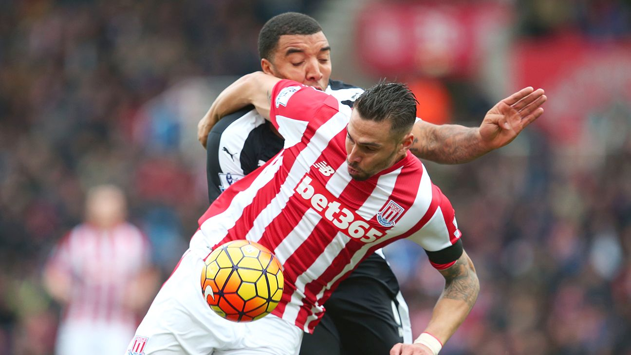 A return of U.S. international Geoff Cameron to the starting XI could well shore up Stoke's defensive midfield.