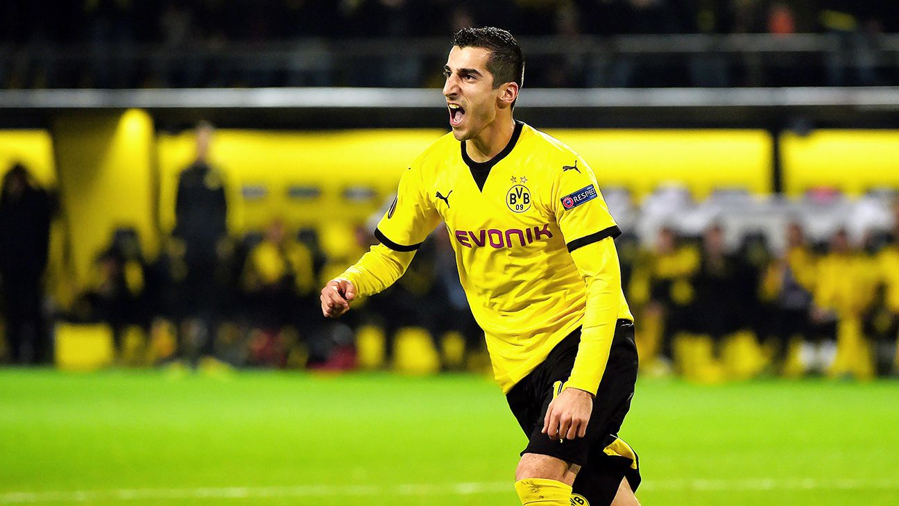 Henrikh Mkhitaryan capped a superb display against Qabala with a 70th minute goal.