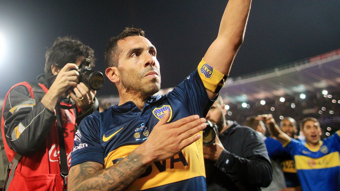 After winning a league and cup double in Italy with Juventus earlier this year, Carlos Tevez has just achieved the same feat at Boca Juniors in Argentina.
