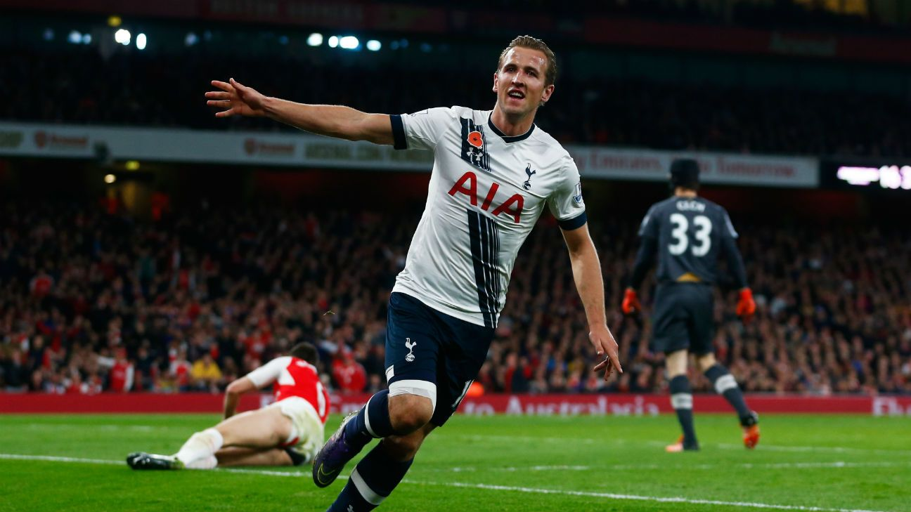 Harry Kane continued his scorching form with a goal at The Emirates.