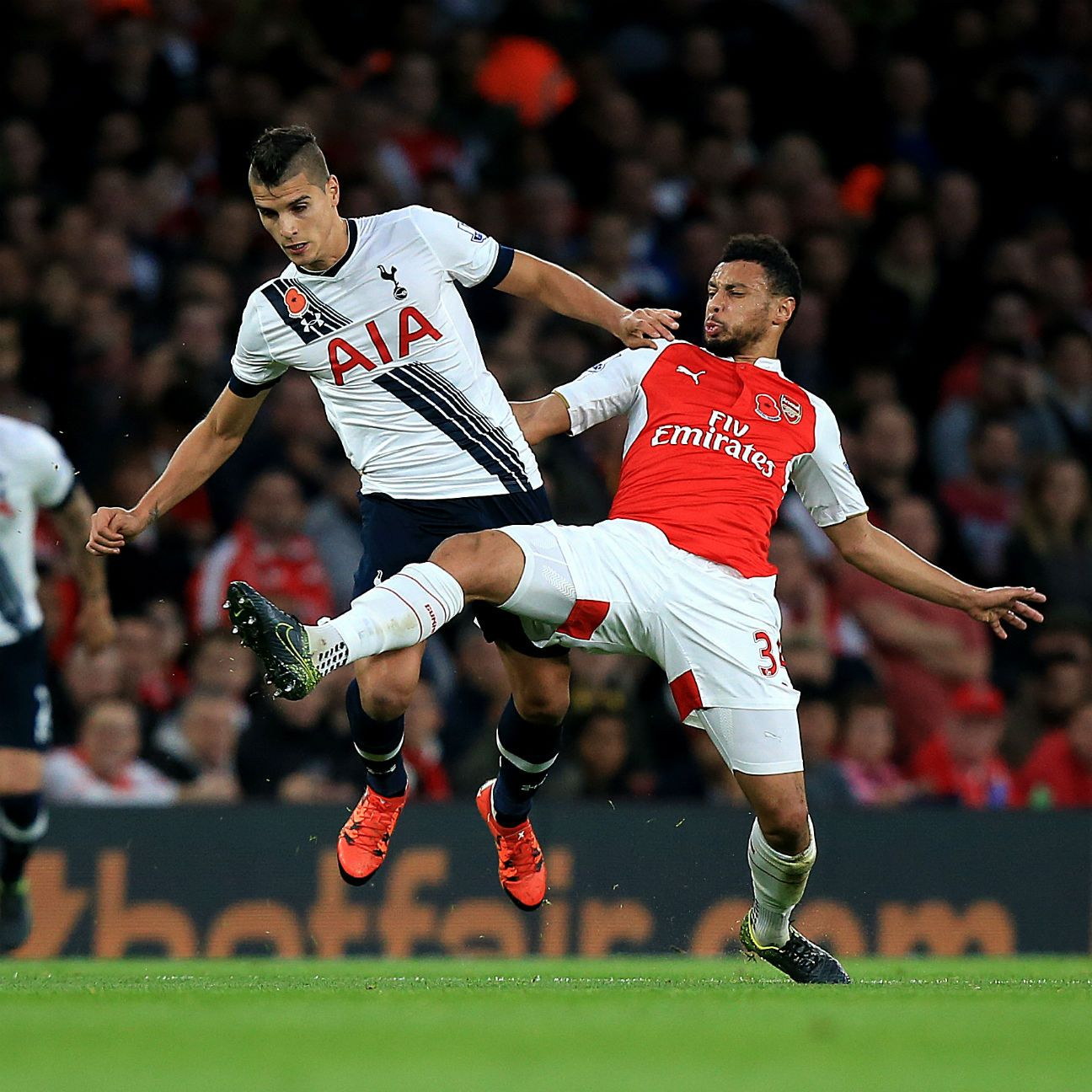 Tottenham were unable to earn their first win at The Emirates since 2010 in Sunday's 1-1 North London derby draw.