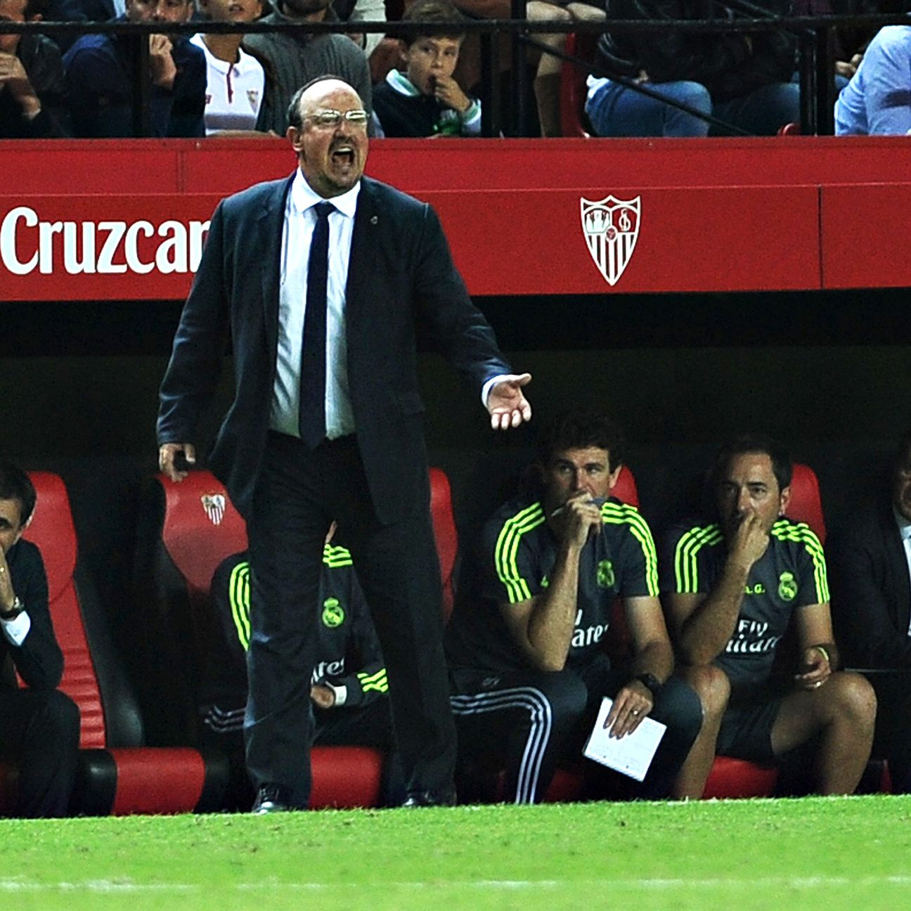 The pressure is on Rafa Benitez to get Real Madrid back to their winning ways.
