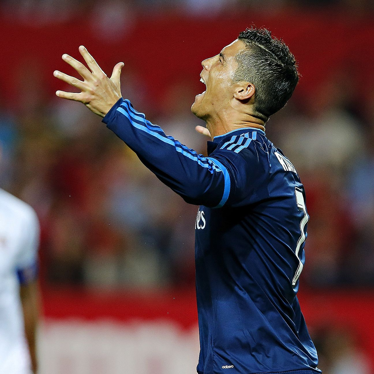 Cristiano Ronaldo and Real Madrid were steamrolled by Sevilla's second half.
