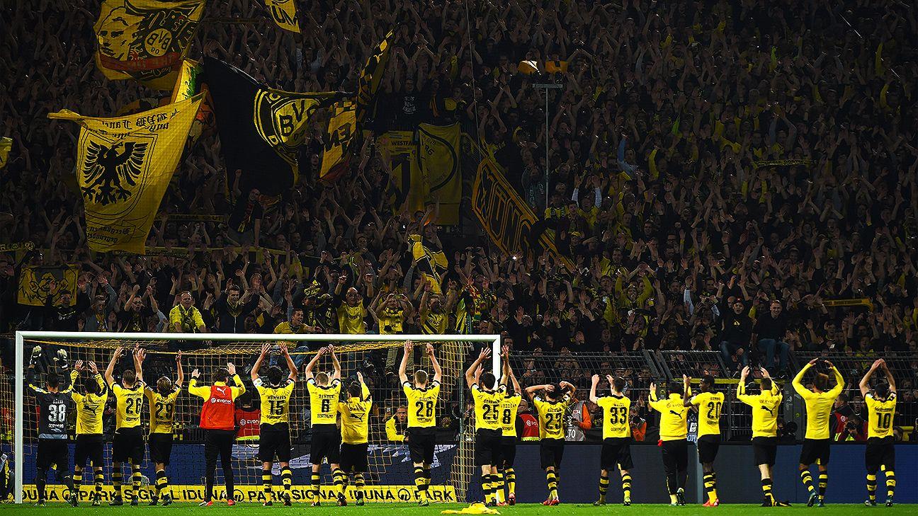 Stadium bans handed out to 88 Borussia Dortmund fans - ESPN FC