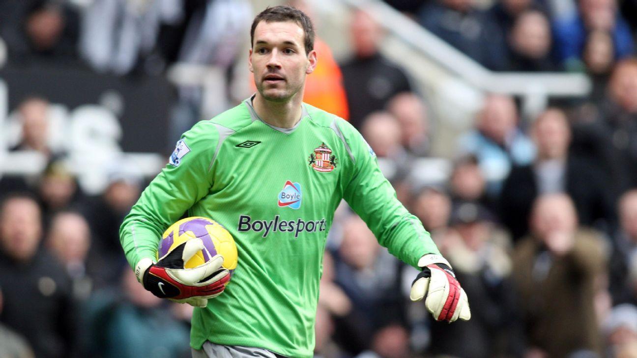 Sunderland goalkeeper Marton Fulop 2009