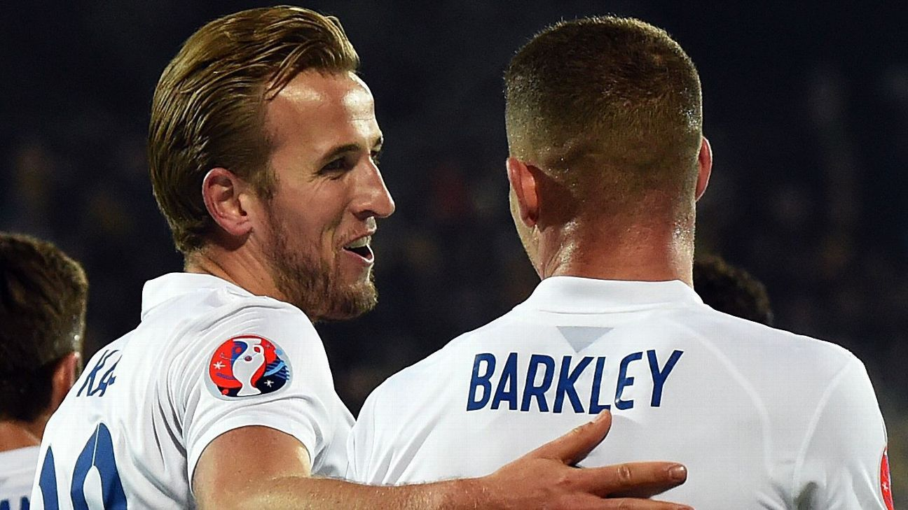 Harry Kane and Ross Barkley