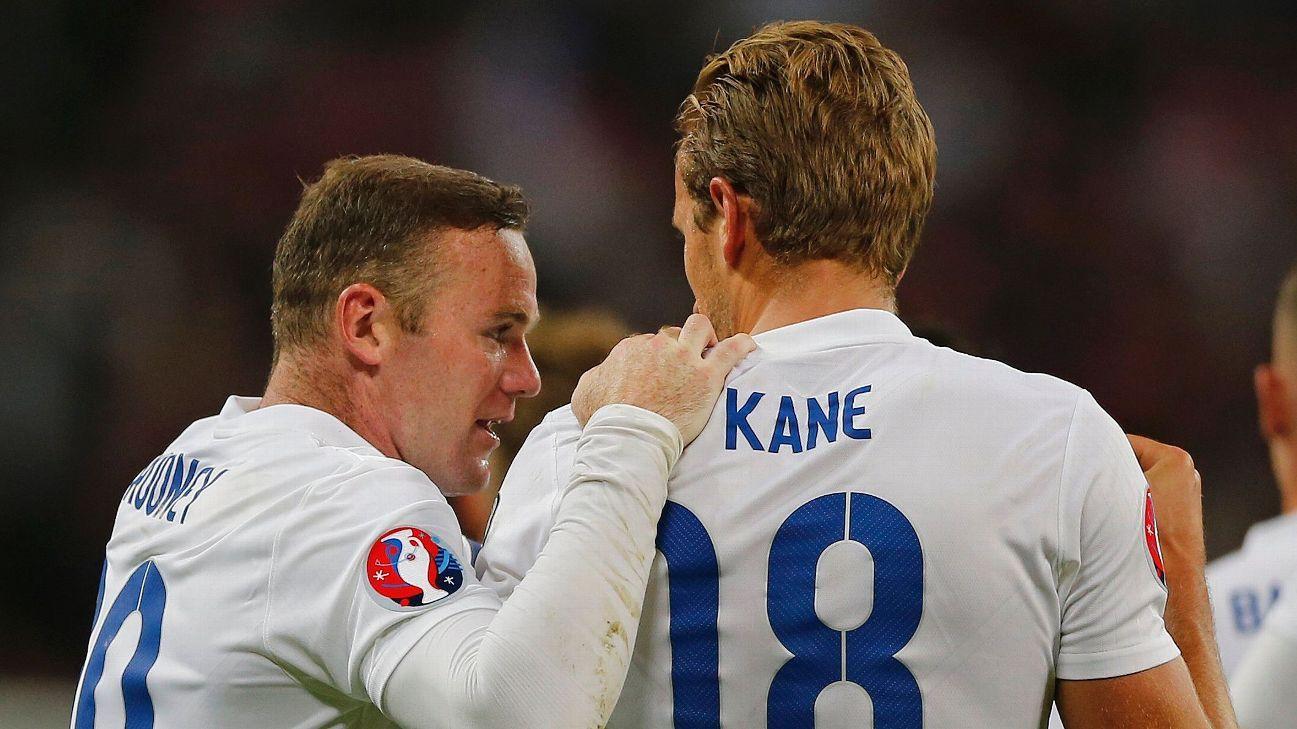 Wayne Rooney, Harry Kane 151112